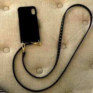 Bandolier I phone x holder with wallet!